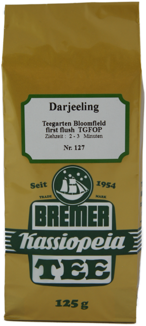 Darjeeling TGFOP, Tg. Bloomfield, first flush