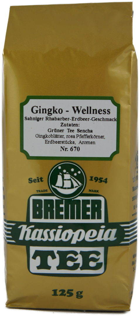 Sencha Gingko Wellness - Grün
